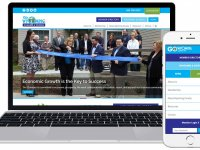 new responsive website for Wyoming County Chamber