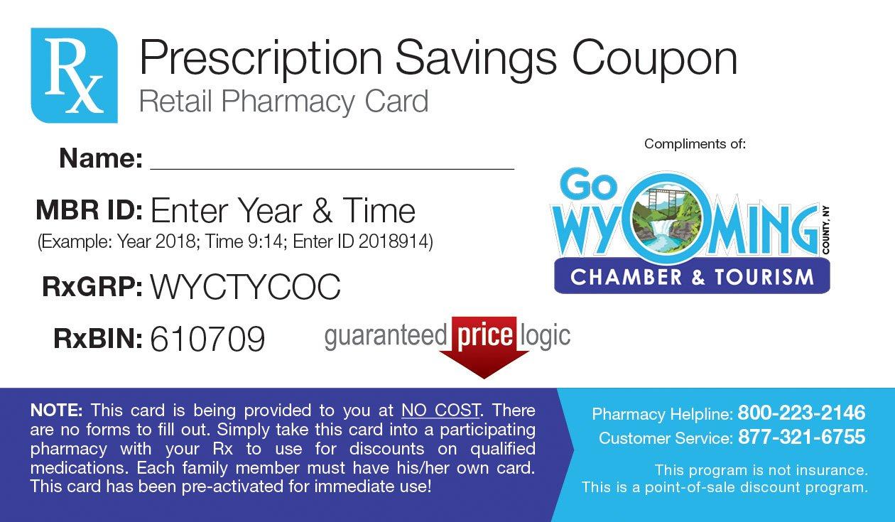 WyCo Free Prescription Drug Card