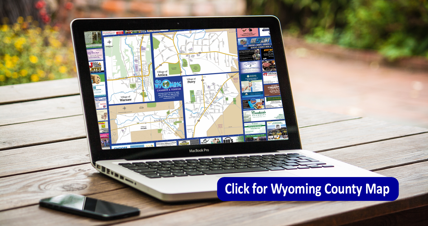 Wyoming Co Map